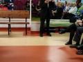 4. Urodziny Suwalskiego Klubu Seniora Lech Krysiewicz czyta wiersz 21.02.2020 r., fot. Zofia Jakubowska