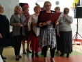 4. Urodziny Suwalskiego Klubu Seniora Zofia Jakubowska czyta wiersz 21.02.2020 r., fot. Zofia Jakubowska