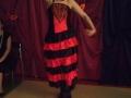 4. Urodziny Suwalskiego Klubu Seniora animatorka Monika tańczy flamenco a, 21.02.2020 r., fot. Zofia Jakubowska