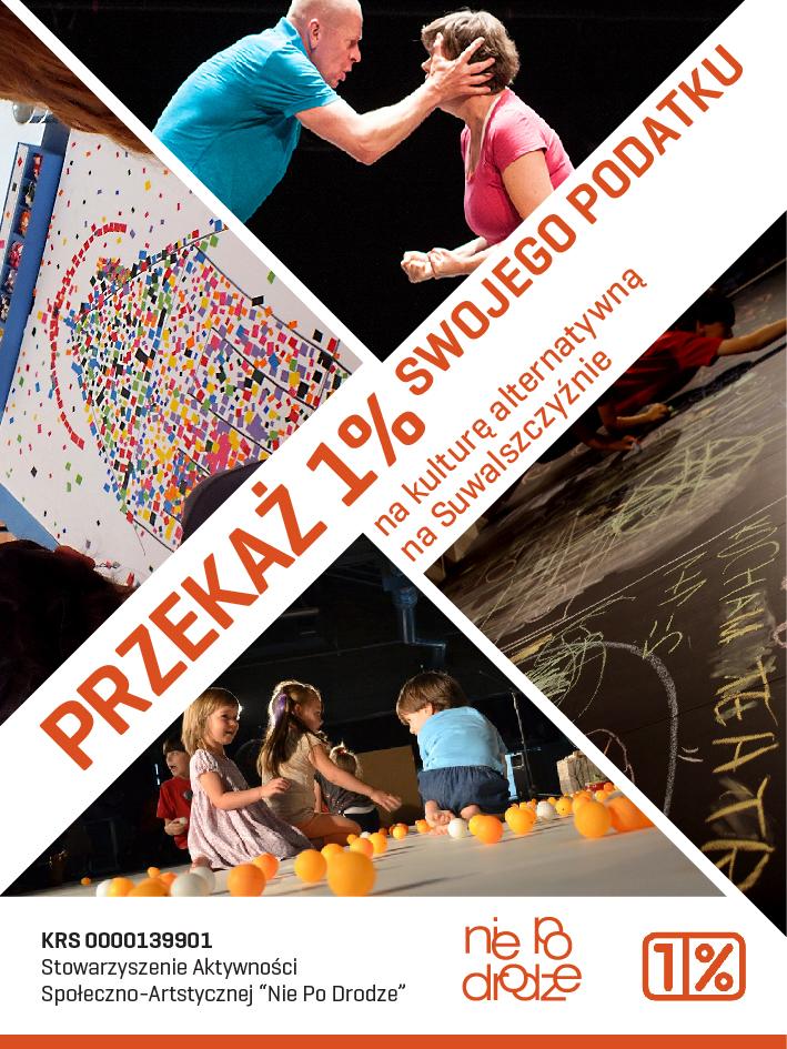 przekaż 1% podatku na niezależną działalność kulturalną na Suwalszczyźnie