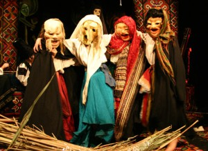 "Spektakl ""Prolog do Makbeta"", Teatr ""DAKH"" z Kijowa"