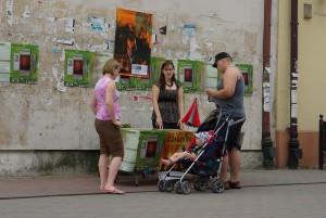 Wolontariat na Teatr-Akcjach, fot. J. Dziemian
