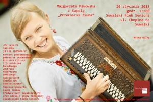 """Koncert Małgorzaty Makowskiej """"Po czym Ci Jasieńku ja się spodobała…"""""""