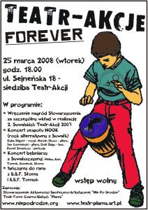Teatr-Akcje forever plakat