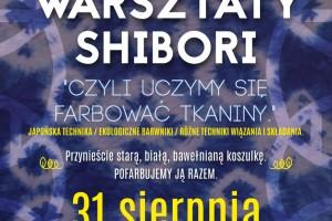 Warsztaty Shibori