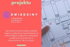 """27 września 2018 zapraszamy na podsumowanie projektu """"Odwiedziny"""""""