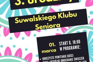 3. urodziny Suwalskiego Klubu Seniora