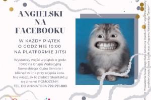 Angielski dla seniorów na Facebooku