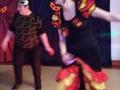 4. Urodziny Suwalskiego Klubu Seniora animatorka Karina tańczy flamenco, 21.02.2020 r., fot. Zofia Jakubowska